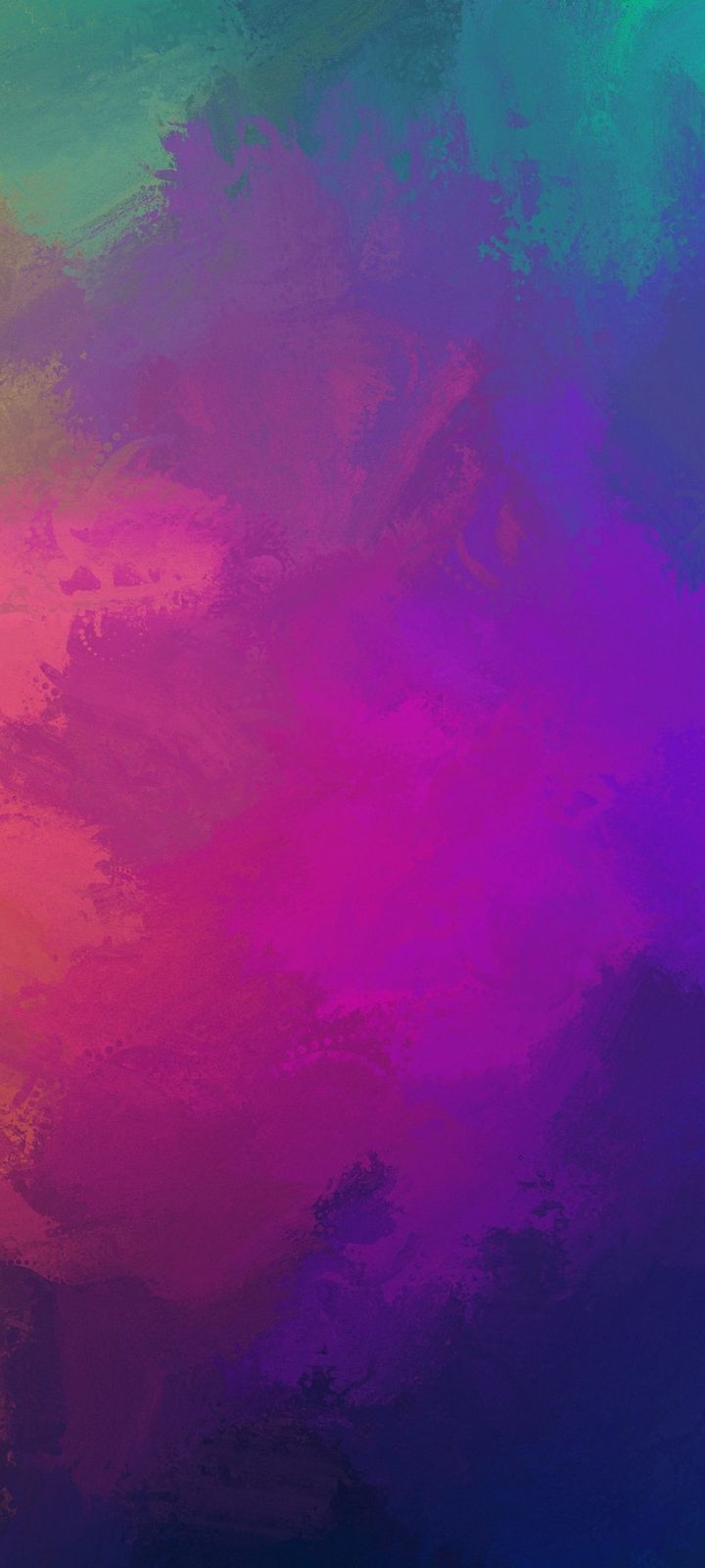 Paint Colorful Overlay Wallpaper 720x1600