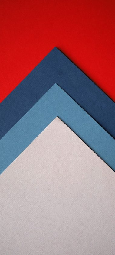 Paper Colorful Triangles Wallpaper 720x1600 380x844