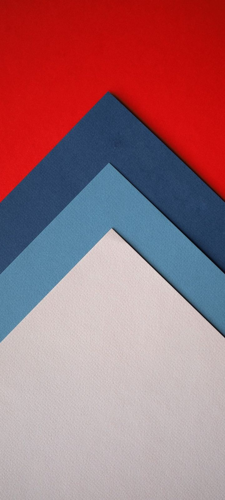 Paper Colorful Triangles Wallpaper 720x1600