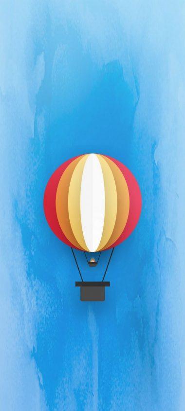 Parachute Minimal Wallpaper 720x1600 380x844