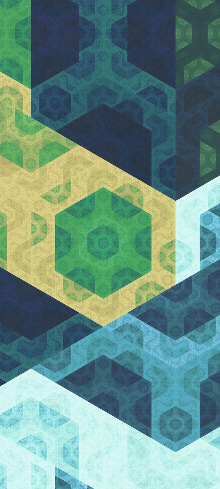 Pattern Geometric Colorful Wallpaper 720x1600
