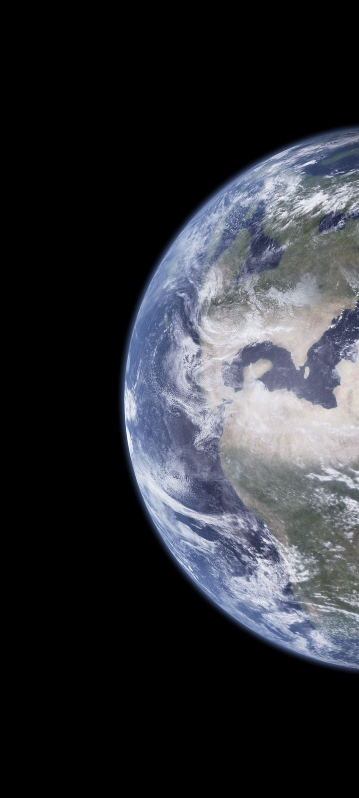 Planet Earth Space Wallpaper 720x1600