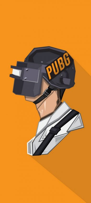 Pubg Minimal Side Wallpaper 720x1600 380x844