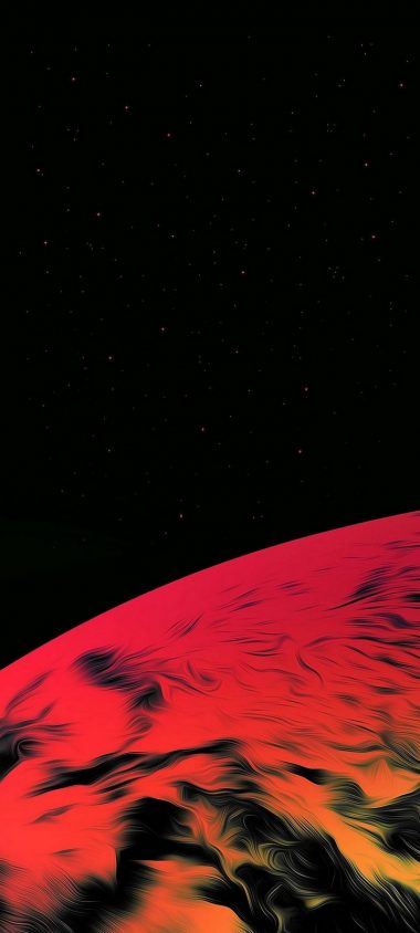 Red Planet Space Wallpaper 720x1600 380x844