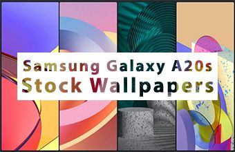 Samsung Galaxy A20s Stock Wallpapers