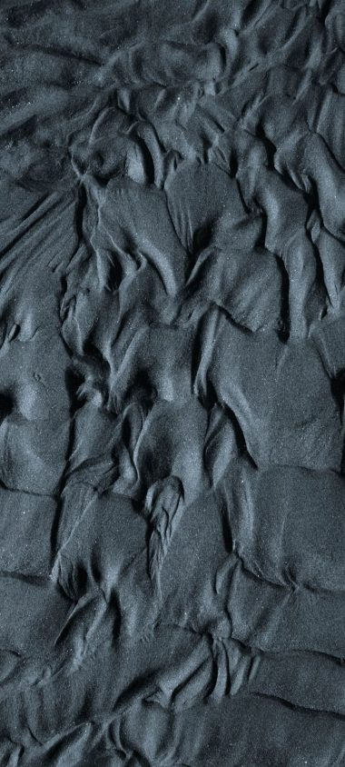 Sand Wavy Gray Wallpaper 720x1600 380x844