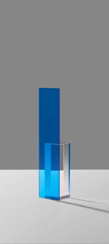 Shape Glass Blue Wallpaper 720x1600 380x844