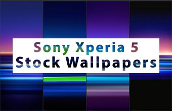 Sony Xperia 5 Stock Wallpapers