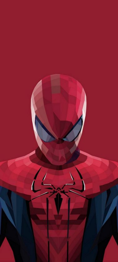 Superhero Spiderman Cartoon Wallpaper 720x1600 380x844