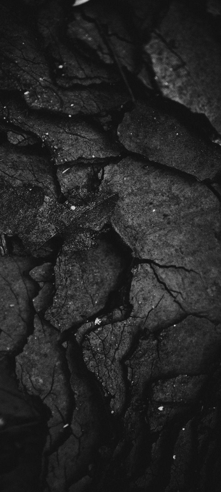 Texture Surface Dark Wallpaper 720x1600