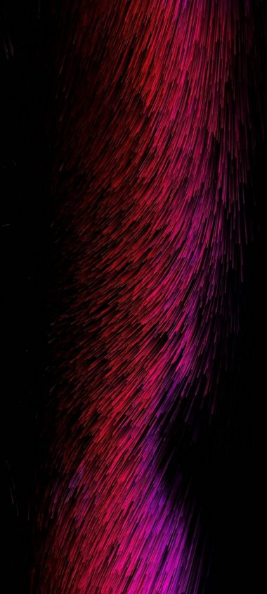 Threads Glow Red Pink Abstract Wallpaper 720x1600 380x844