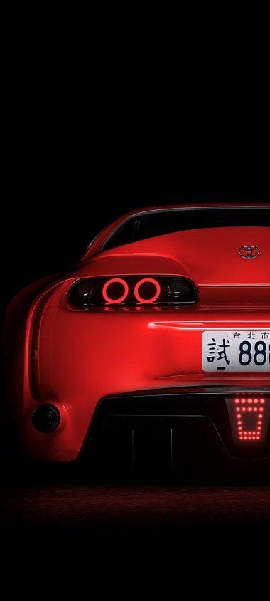 Toyota Supra Toyota Sportscar Wallpaper 720x1600 380x844