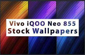 Vivo iQOO Neo 855 Stock Wallpapers