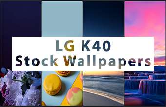 LG K40 Stock Wallpapers
