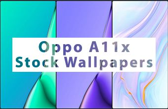 Oppo A11x Stock Wallpapers