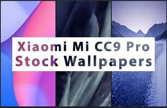 Xiaomi Mi CC9 Pro Stock Wallpapers