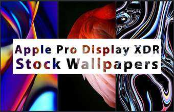 Apple Pro Display XDR Stock Wallpapers
