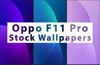 Oppo F11 Pro Stock Wallpapers