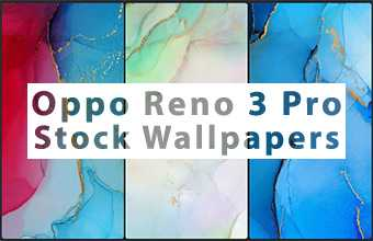 Oppo Reno 3 Pro Stock Wallpapers