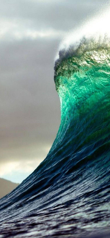 Waves Phone Wallpaper 022 - 1080x2340