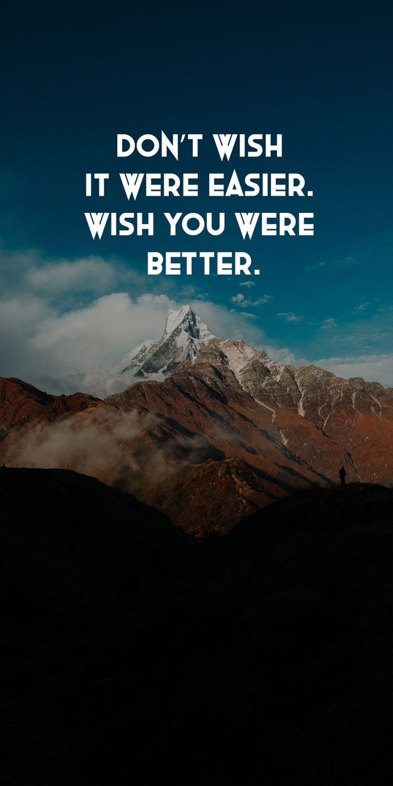 Inspirational Quotes Phone Wallpaper [1080x2160] - 046