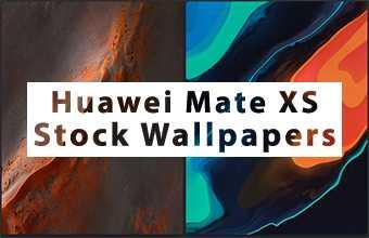 Huawei Mate XS Stock Wallpapers