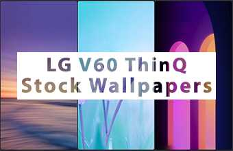 LG V60 ThinQ Stock Wallpapers