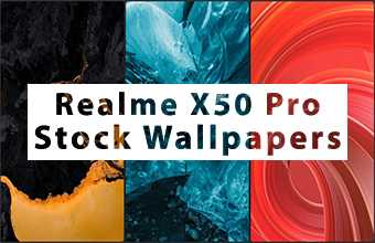 Realme X50 Pro Stock Wallpapers
