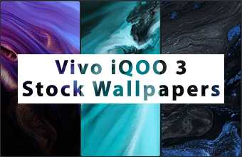 Vivo iQOO 3 Stock Wallpapers