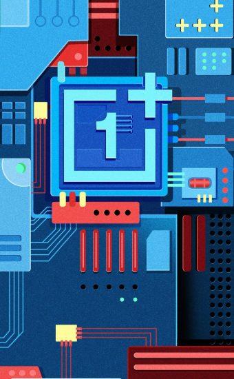 OnePlus New Brand Logo Wallpaper 945x2048 01 340x550