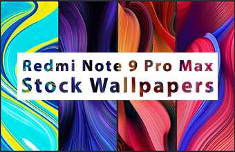 Redmi Note 9 Pro Max Stock Wallpapers