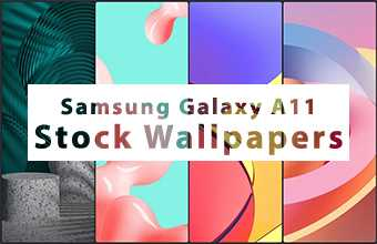 Samsung Galaxy A11 Stock Wallpapers