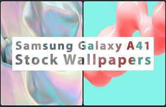 Samsung Galaxy A41 Stock Wallpapers