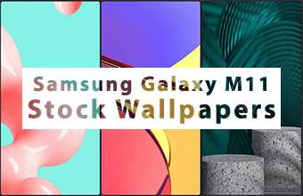 Samsung Galaxy M11 Stock Wallpapers