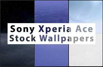 Sony Xperia Ace Stock Wallpapers