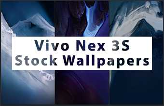 Vivo Nex 3S Stock Wallpapers