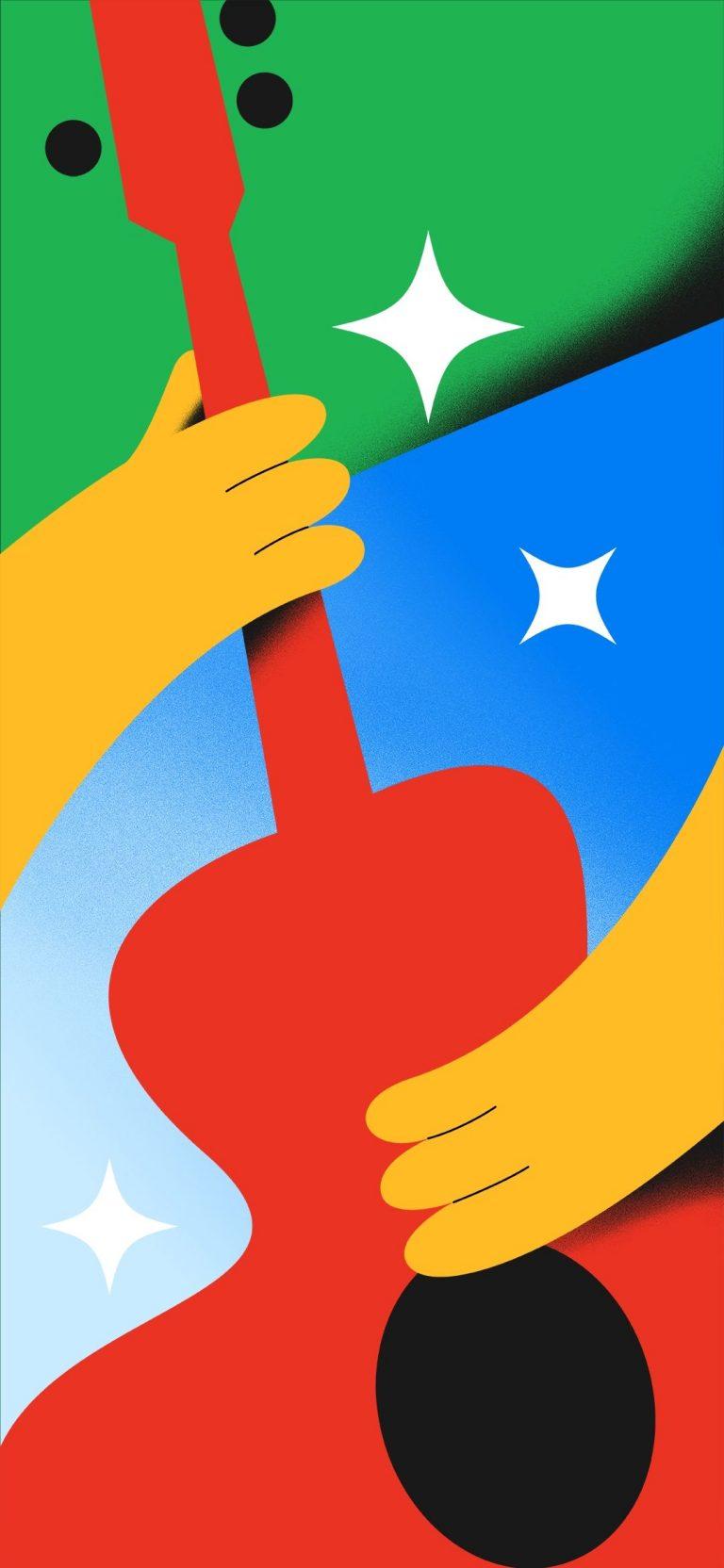 Google Pixel 4a Stock Wallpaper [1080x2340] - 04