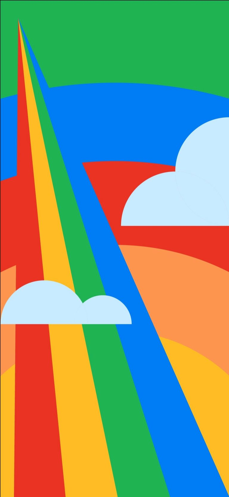 Google Pixel 4a Stock Wallpaper [1080x2340] - 06