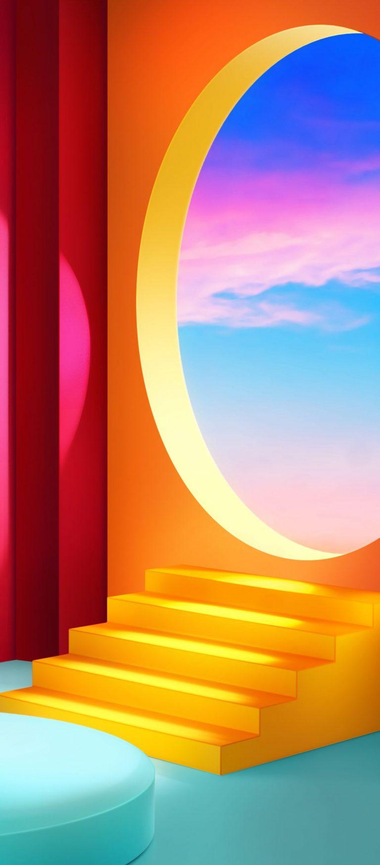 LG Velvet Stock Wallpaper [1080x2460] - 01
