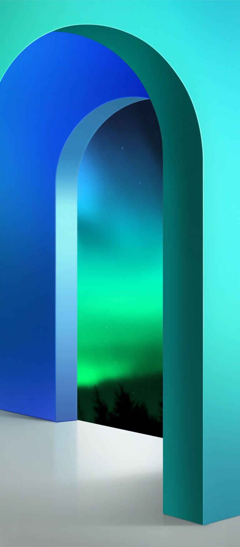 LG Velvet Stock Wallpaper [1080x2460] - 02