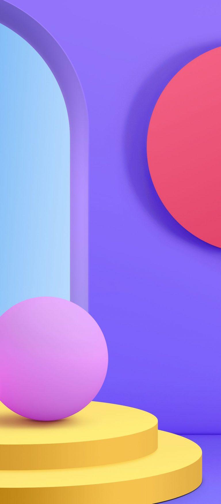 LG Velvet Stock Wallpaper [1080x2460] - 11