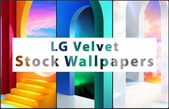 LG Velvet Stock Wallpapers