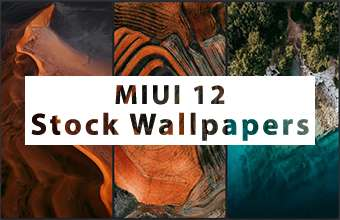 MIUI 12 Stock Wallpapers