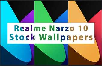 Realme Narzo 10 Stock Wallpapers