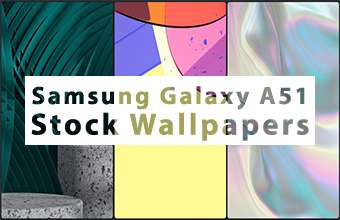 Samsung Galaxy A51 Stock Wallpapers