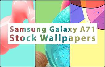 Samsung Galaxy A71 Stock Wallpapers