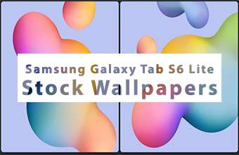 Samsung Galaxy Tab S6 Lite Stock Wallpapers