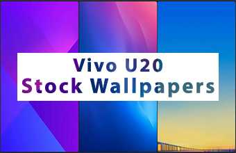 Vivo U20 Stock Wallpapers