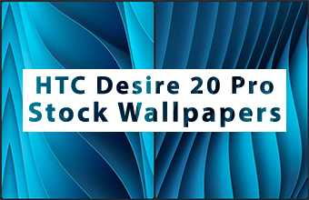 HTC Desire 20 Pro Stock Wallpapers