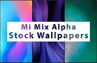 Mi Mix Alpha Stock Wallpapers